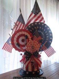 Wonderful Ideas Of 4th Of July Home Decoration 37