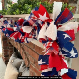 Wonderful Ideas Of 4th Of July Home Decoration 46