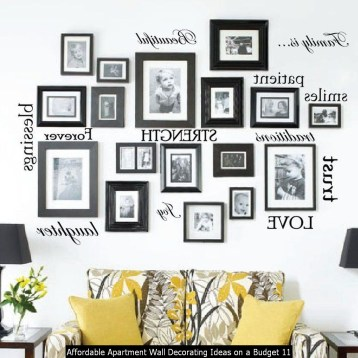 Affordable Apartment Wall Decorating Ideas On A Budget 11