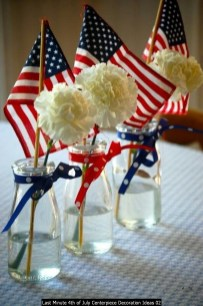 Last Minute 4th Of July Centerpiece Decoration Ideas 02