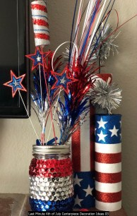 Last Minute 4th Of July Centerpiece Decoration Ideas 03