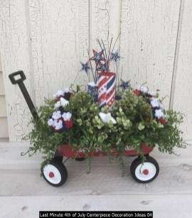 Last Minute 4th Of July Centerpiece Decoration Ideas 04