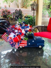 Last Minute 4th Of July Centerpiece Decoration Ideas 11