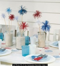 Last Minute 4th Of July Centerpiece Decoration Ideas 12