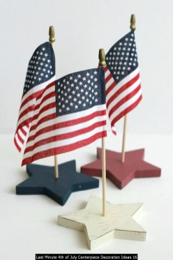 Last Minute 4th Of July Centerpiece Decoration Ideas 16