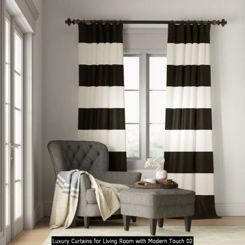 Luxury Curtains For Living Room With Modern Touch 02