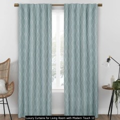 Luxury Curtains For Living Room With Modern Touch 12