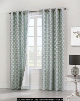 Luxury Curtains For Living Room With Modern Touch 14