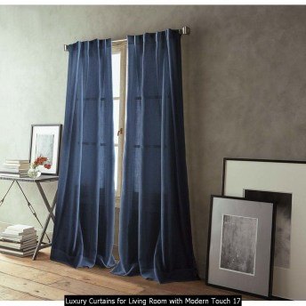 Luxury Curtains For Living Room With Modern Touch 17