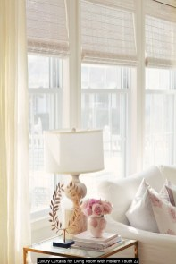 Luxury Curtains For Living Room With Modern Touch 22