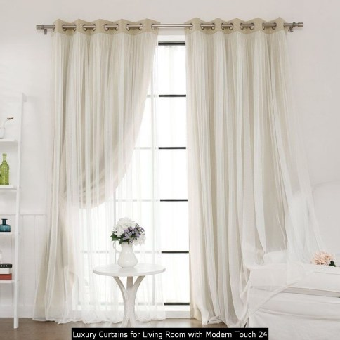Luxury Curtains For Living Room With Modern Touch 24