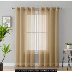 Luxury Curtains For Living Room With Modern Touch 37
