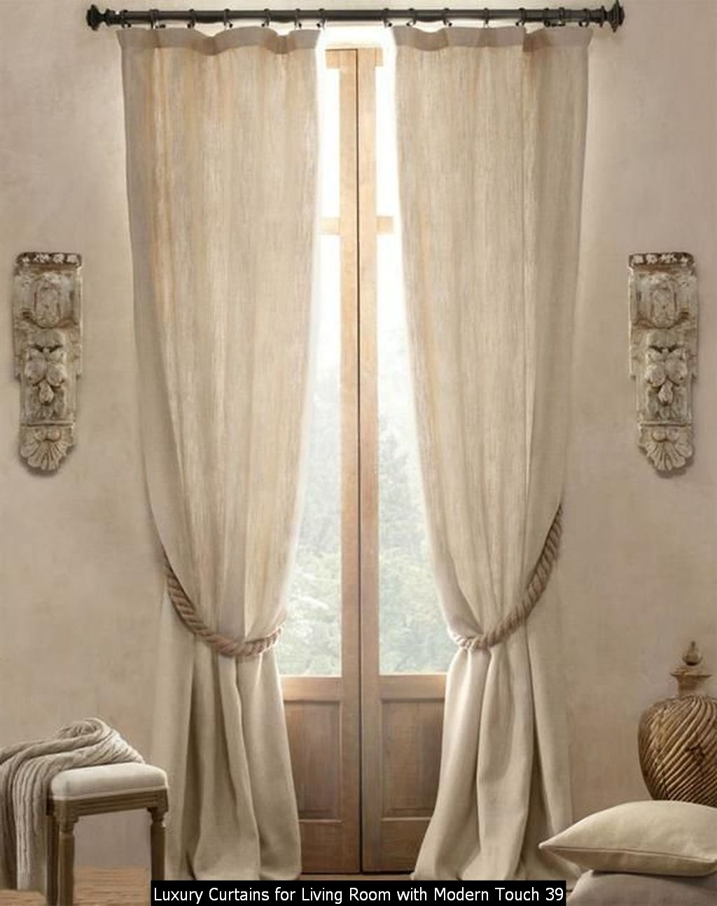 Luxury Curtains For Living Room With Modern Touch 39