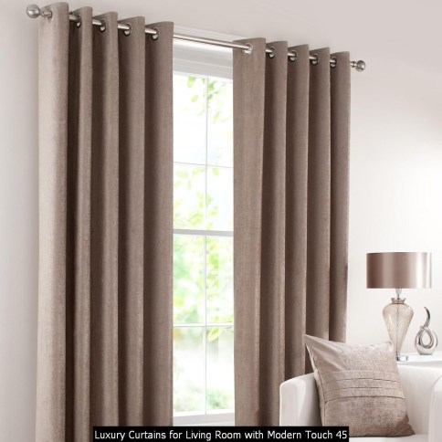 Luxury Curtains For Living Room With Modern Touch 45