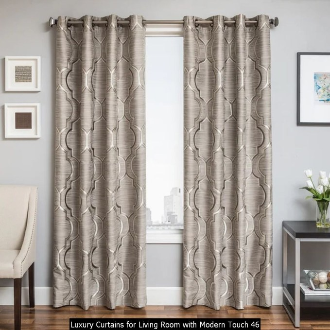 Luxury Curtains For Living Room With Modern Touch 46