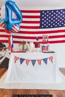 Patriotic 4th Of July Party Ideas That'll Impress Guests 01