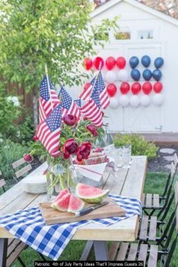 Patriotic 4th Of July Party Ideas That'll Impress Guests 26