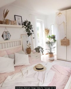 Unordinary Bedroom Design Ideas For Teenage Girl 01