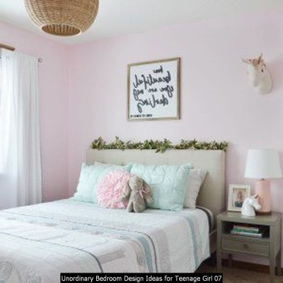 Unordinary Bedroom Design Ideas For Teenage Girl 07