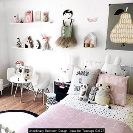 Unordinary Bedroom Design Ideas For Teenage Girl 27