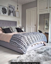 Unordinary Bedroom Design Ideas For Teenage Girl 34