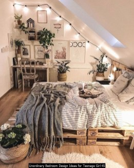 Unordinary Bedroom Design Ideas For Teenage Girl 45