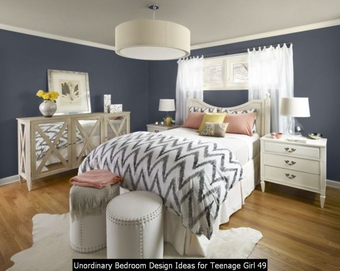 Unordinary Bedroom Design Ideas For Teenage Girl 49
