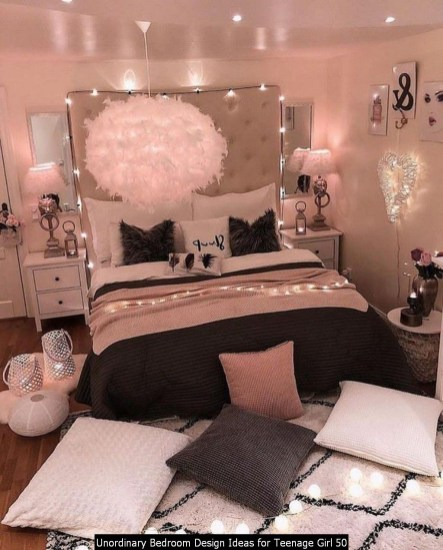 Unordinary Bedroom Design Ideas For Teenage Girl 50