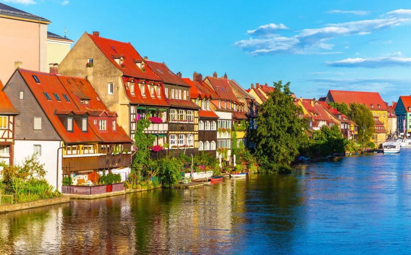 Credits. Bamberg by Scanrail/can stock photo
