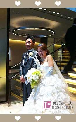 荻野貴匡 結婚式