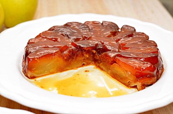 Перевернутый яблочный пирог или Тарт Татен