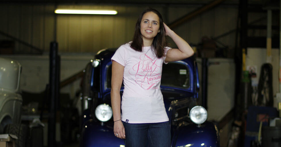 Pretty Awesome Ladies T-shirt