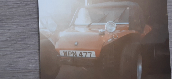 This beach buggy has history!