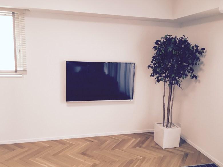やってよかった スッキリ 壁掛けテレビ 録画 リノベ リフォーム おしゃれ