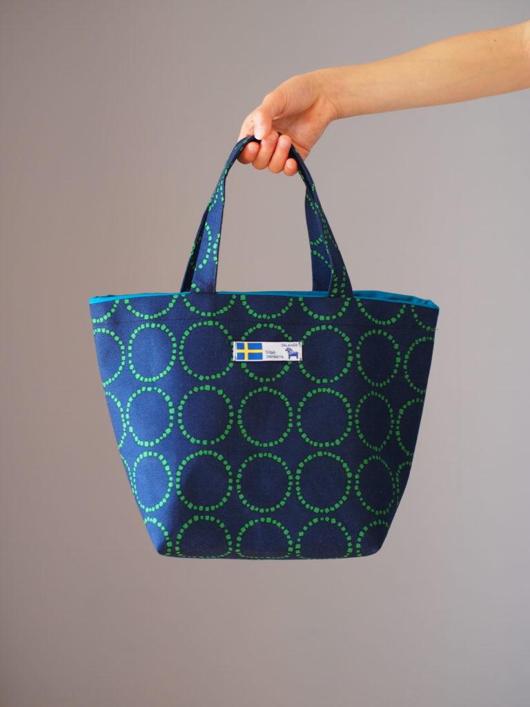 ハンドメイド 手作り バッグ 北欧 小物 ミシン クラフト 作家 おしゃれ シンプル かっこいい ランチバッグ