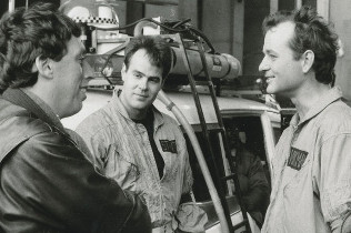 Ivan Reitman, Dan Aykroyd and Bill Murray