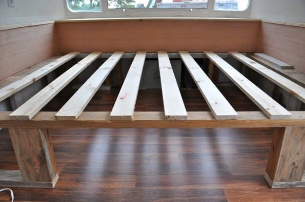 Wooden Bed Build