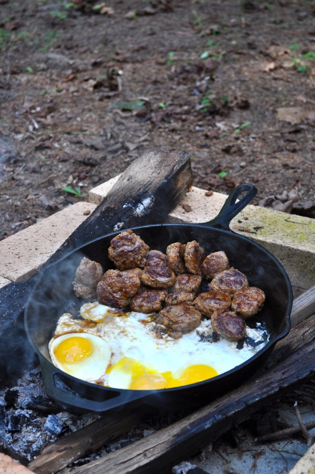 sausage and eggs!
