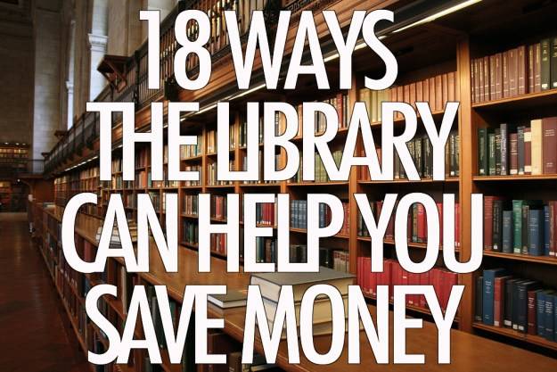 18 ways the library can help you save money