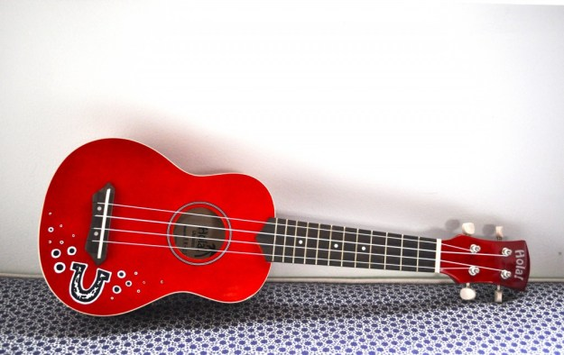 customized ukulele