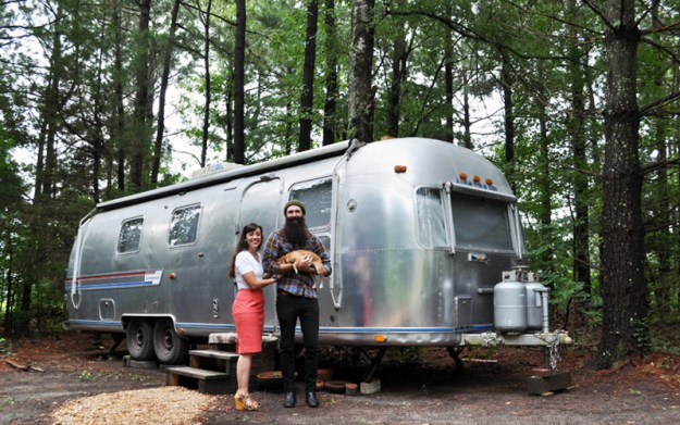 Airstream Family Photo Outtake
