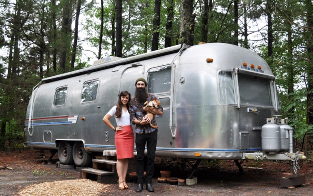 Airstream Family Photo