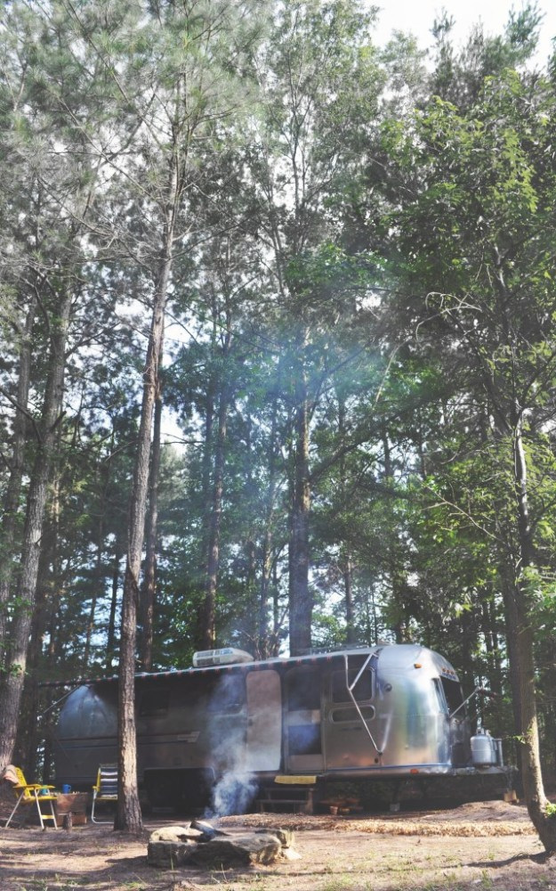 An Airstream in the pines copy