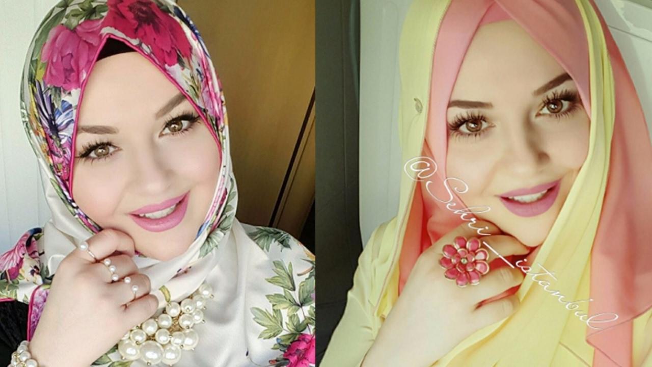 اجمل فتاة محجبة في تركيا بنات باحلي لفة حجاب رسائل حب