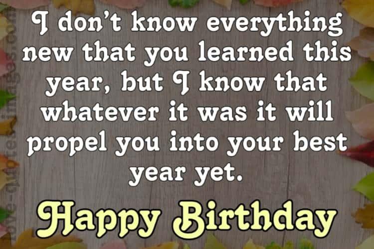 Happy Birthday Quotes Images