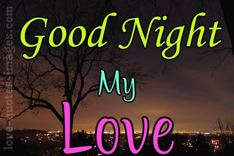 good night images love