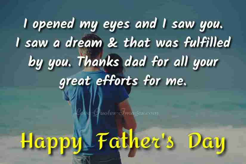happy fathers day quotes in english