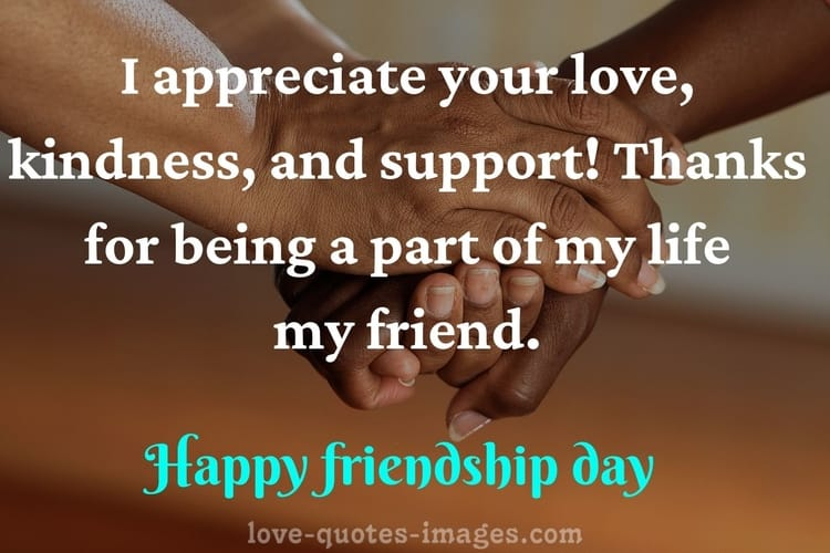 friendship day is on