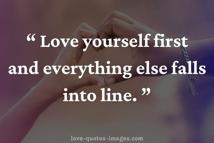 learn how to love yourself quotes