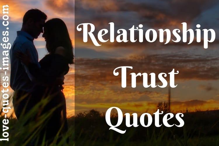 trust quotes relationship